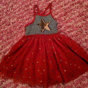 Patriotic Toddler Girl Dress NWOT!